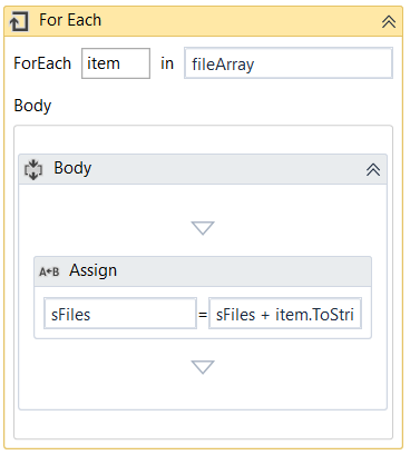 Get files from a folder with UiPath - RPA Geek